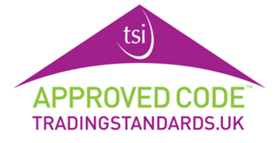 Trading Standards Approved Code Logo